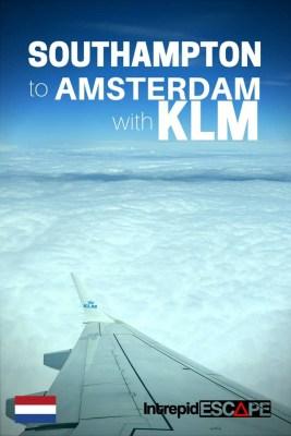 Southampton to Amsterdam KLM