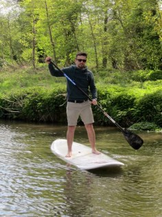 Paddle Boarding, Winchester, England