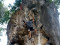 Rockclimbing at Railay, Thailand