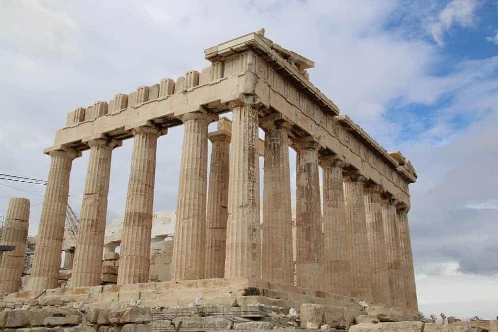 Athens Acropolis, The Parthenon - Intrepid Escape
