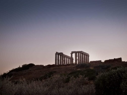 Athens The temple of Poseidon Cape Sounio