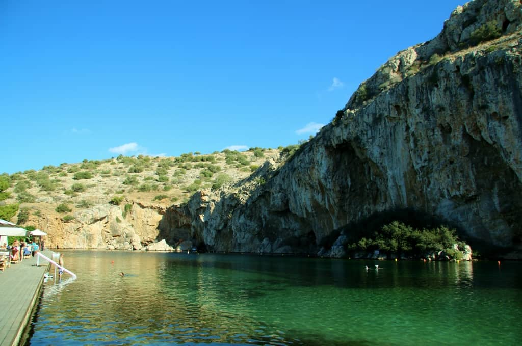 Athens Lake Vouliagmeni - Intrepid Escape