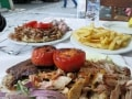 Athens Food, Mixed Gyros - Intrepid Escape
