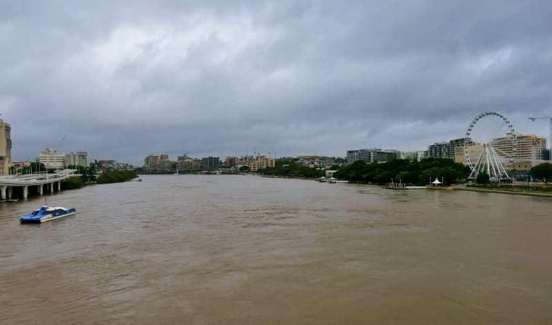 Brisbane before the flood
