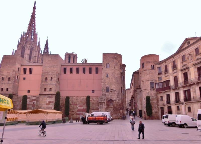 kart over coast barcelona