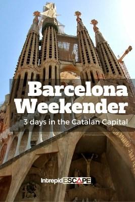 Barcelona Weekender