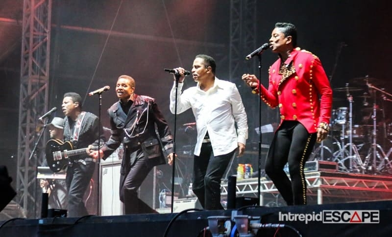 The Jacksons - Bestival 2015