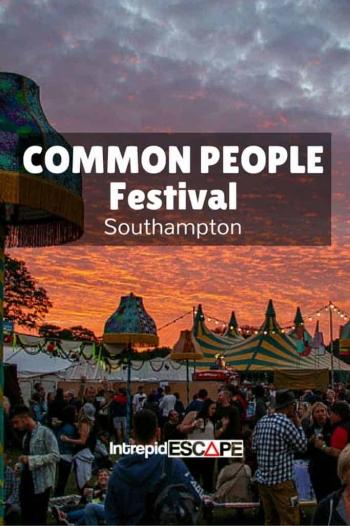 Common People Festival Southampton