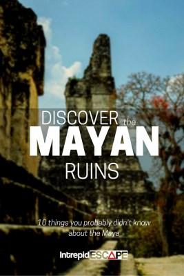 Discover the Mayan Ruins Tikal & Belize