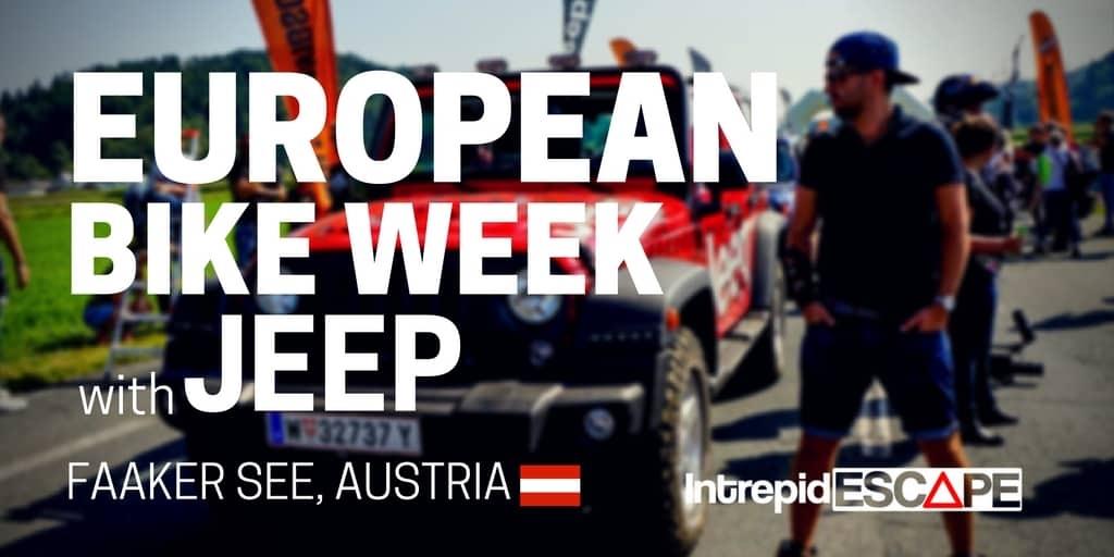 European Bike Week with Jeep