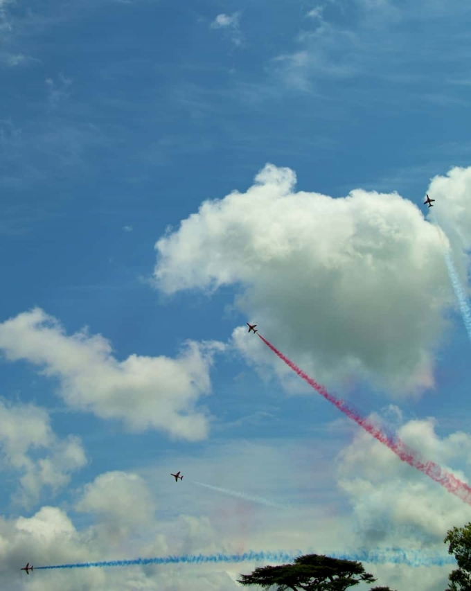 Red Arrows Goodwood