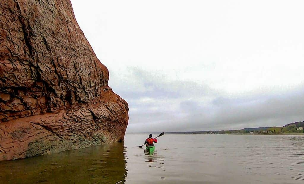 Kayaking St Martins Sea Caves