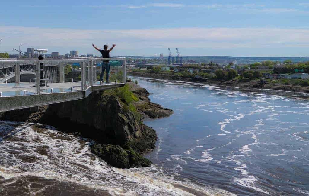 The Reversing Falls Rapids - Saint John