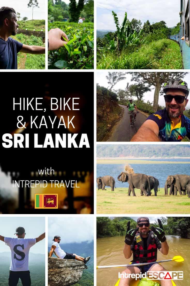 Hike, bike and kayak Sri Lanka with Intrepid Travel