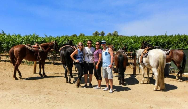 Horse Riding & Wine Tasting - Temecula
