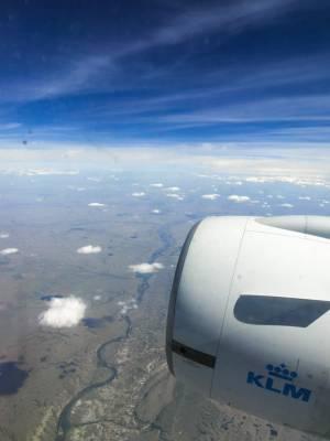 KLM to Alberta