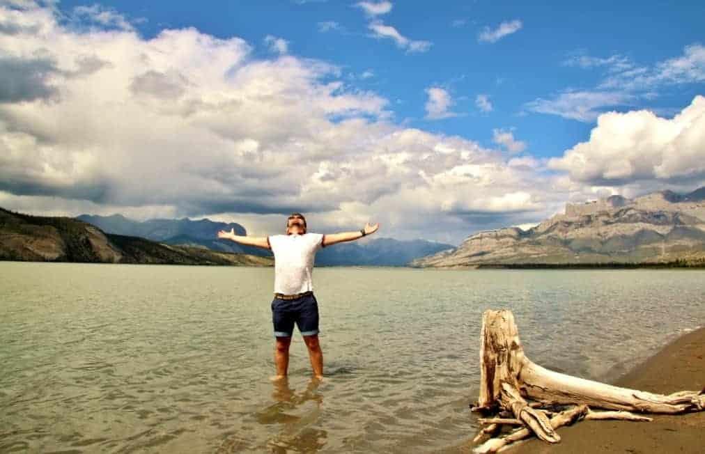 Jasper Lake / Athabasca River