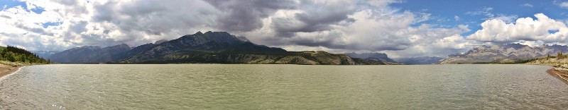 Jasper Lake / Athabasca River