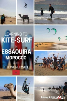 Learning to Kite-surf in Essaouira, Morocco with KiteWorldWide