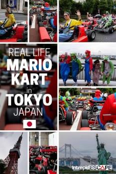Mario Kart Tokyo Japan - Intrepid Escape