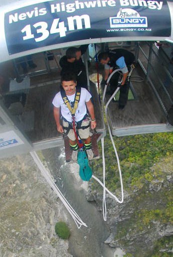 Nevis 134m Bungy Queentown, New Zealand