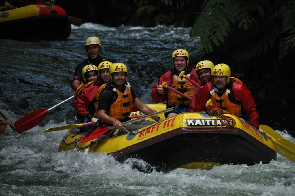 White Water Rafting - Rotorua, New Zealand
