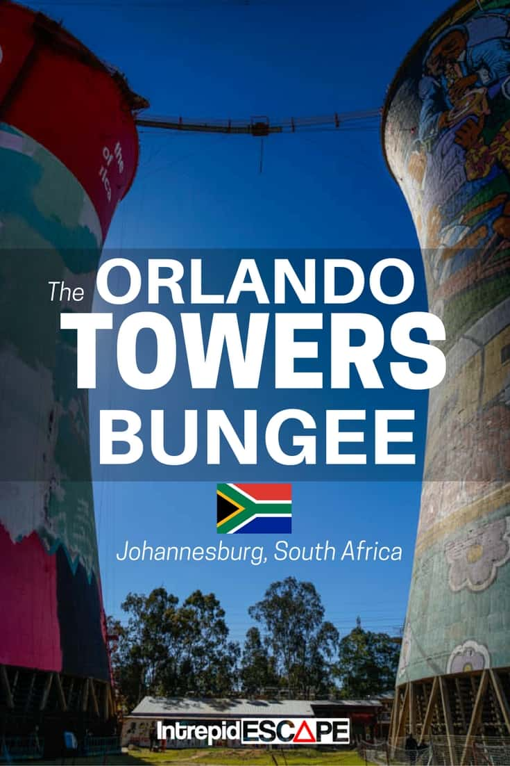 The Orlando Towers Bungee, Johannesburg - Intrepid Escape