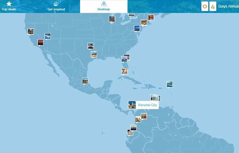 KLM Deal Map