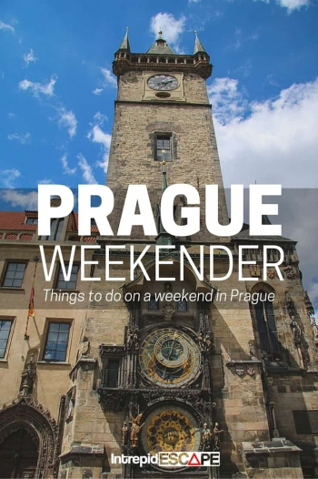 Prague Weekender - Intrepid Escape