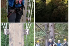 Zipline in the Redwood Forest - Bucket List Road Trips: Driving from San Francisco to Mammoth Lakes
