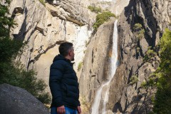 Lower Yosemite Falls - Bucket List Road Trips: Driving from San Francisco to Mammoth Lakes