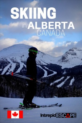 Skiing & Snowboarding in Alberta - Intrepid Escape