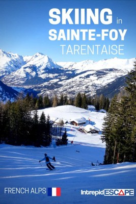 Skiing in Sainte Foy - a hidden gem in the French Alps