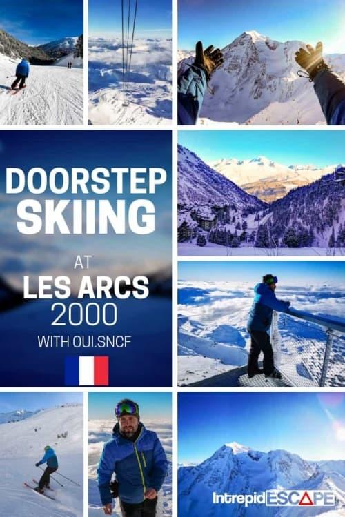 Skiing LES ARCS 2000