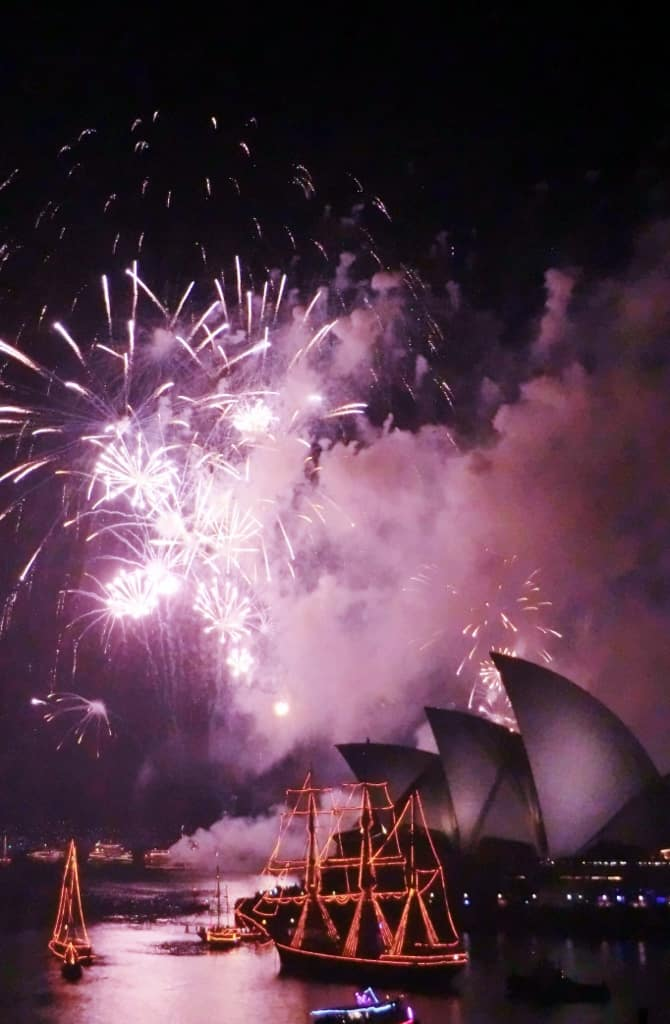 Sydney Opera House New Years Eve