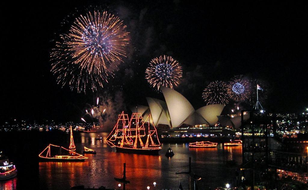 Sydney Opera House New Years Eve