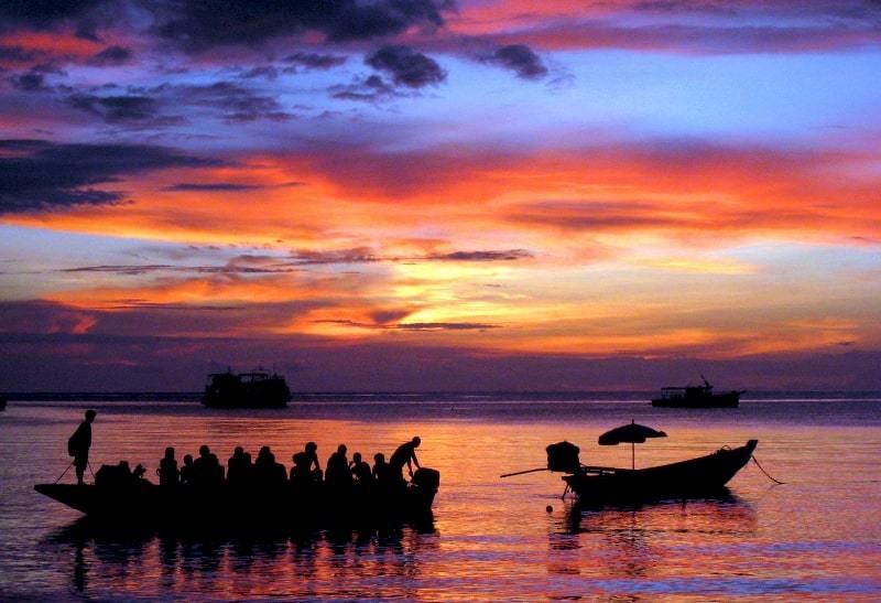 Koh Tao Sunset - Intrepid Escape