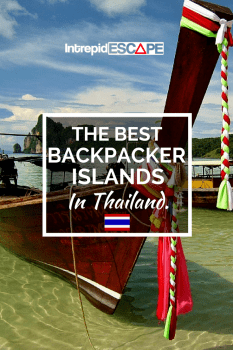 Best Backpack Islands in Thailand