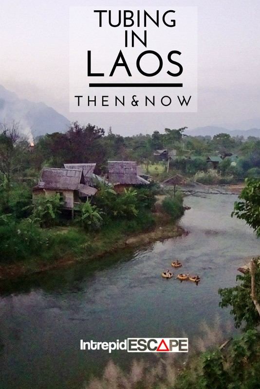 Tubing in Laos: Then and Now - Intrepid Escape