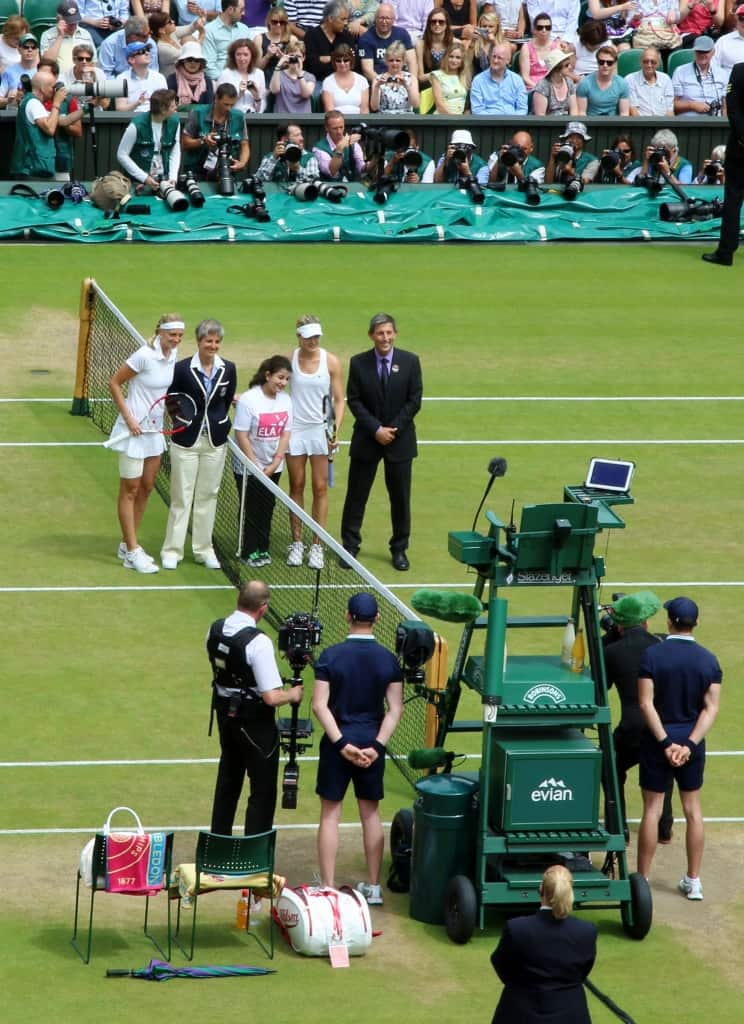 Wimbledon Centre Court, Ladies Final
