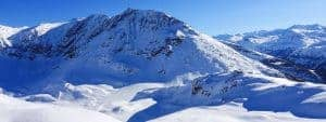 Skiing in Sainte Foy